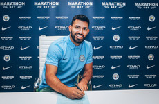 Agueroooo... Man City's greatest ever goal-scorer extends contract until 2021