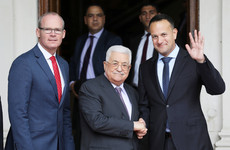 Palestinian president Mahmoud Abbas will visit Dublin today