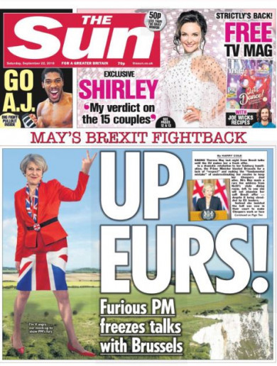 'May's finest hour': Here's what the UK papers are making of May's speech