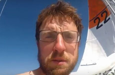 Indian sailor injured in race; Irish competitor's yacht damaged while trying to reach him