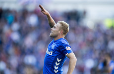 Gerrard's Rangers move ahead of embattled Celtic