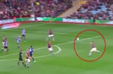 Scottish midfielder John McGinn scores a sublime goal-of-the-season contender for Aston Villa