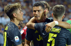 Cristiano Ronaldo keeps Juventus perfect in Serie A