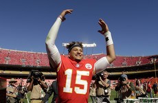 Rising quarterback star dazzles again as Chiefs down 49ers