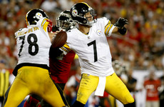 Steelers edge Buccaneers for first win