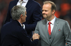 Woodward backs Mourinho as Man United's revenue hits record high
