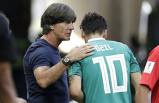 German coach Loew blocked from meeting Ozil at Arsenal training - report