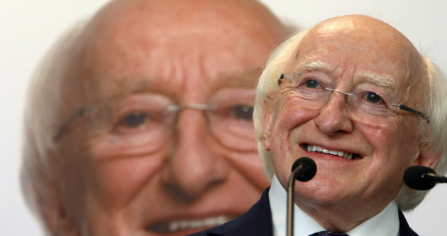 Higgins says he is 'totally open' to transparency in the President's expenses, says he feels fitter than in 2011