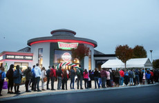 Hundreds of people in Blanchardstown have queued for doughnuts over the last two days