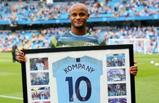 Vincent Kompany to donate testimonial money to Manchester homelessness fund