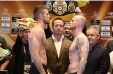 Groves and Smith make weight for Saudi showpiece as Mullingar's McDonagh faces off with Eubank