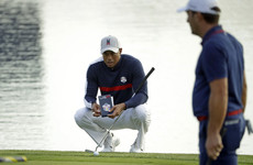Tiger tees off as Americans chase rare European win in Ryder Cup