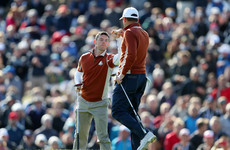 McIlroy and Garcia withstand late fightback as Europe surge into four-point lead