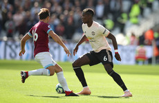 As it happened: West Ham vs Man United, Premier League