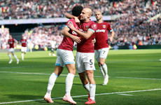 Mourinho's men fall to West Ham as Man United equal worst ever Premier League start