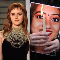 'The deepest respect': Emma Watson pays tribute to Savita Halappanavar