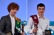 Kerry's Walsh and Galway's O'Shea named Electric Ireland Minor Footballer and Hurler of the Year for 2018