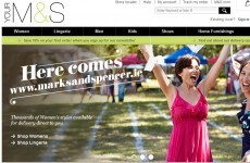 Marks & Spencer launches Irish website