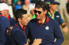 McIlroy tips Harrington to captain Europe at 2020 Ryder Cup