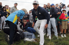 Spectator loses the sight in her eye after being hit by golf ball at Ryder Cup