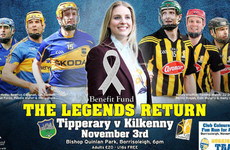 Kilkenny and Tipperary hurling greats returning for November charity game under lights