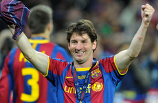 Messi back at Wembley looking to make up for lost time in Europe