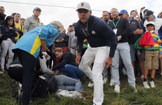 Ryder Cup organisers 'offer support' for spectator left blinded in right eye by Brooks Koepka tee shot