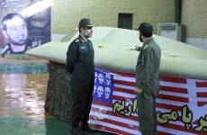 Iran claims data found in spy drone