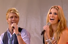 Brian McFadden and Delta Goodrem used to spit in each other's mouths in public...it's The Dredge