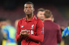 Liverpool must learn from 'reality check' ahead of top-of-the-table City clash - Wijnaldum