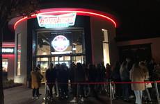 Night of the living fed: Krispy Kreme after dark