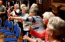 'You forget your aches': Older Dubliners are taking over the Mansion House each week for a unique fitness class