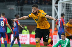 Matt Doherty scores first Premier League goal as Ireland defender's strike sees off Crystal Palace