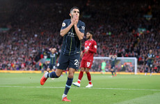 Riyad Mahrez misses 86th minute penalty as Liverpool and Man City play out Anfield stalemate