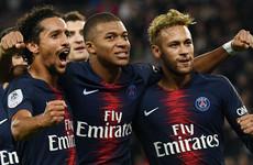 Mbappe scores four in 13 minutes as PSG romp Lyon