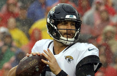 The Jacksonville Jaguars have a quarterback problem