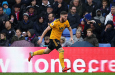 Ireland's Doherty wins player of the month award as superb form with Wolves continues