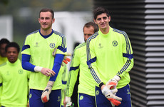 'Courtois got injured at Stamford Bridge and there was a chance of coming on. I was crapping myself on the bench'