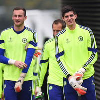 �Courtois got injured at Stamford Bridge and there was a chance of coming on. I was crapping myself on the bench�