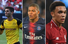 Mbappe, Pulisic and Alexander-Arnold all shortlisted for inaugural Kopa Trophy