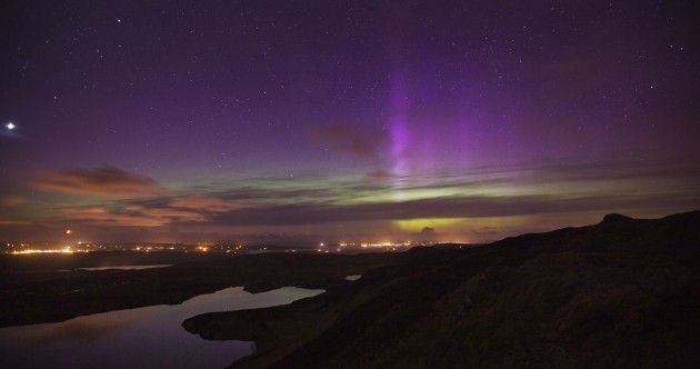 Last night in Donegal… starring the aurora borealis