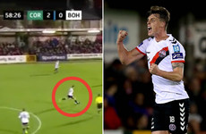 What a strike! Bohemians centre back scores goal-of-the-season contender from 40 yards