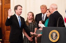 Trump says America owes Brett Kavanaugh an apology at White House swearing-in