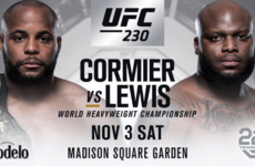 UFC 230 loses Diaz-Poirier but gains heavyweight title bout