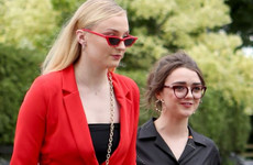 Sophie Turner said she and Maisie Williams get high before sitting in the bath together... it's The Dredge