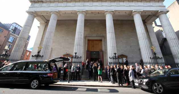 'Not part of God's plan': Hundreds attend Dublin funeral for Emma Mhic Mhathúna
