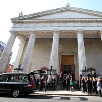 'Not part of God's plan': Hundreds attend Dublin funeral for Emma Mhic Mhathúna