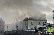 Two arrested after fire breaks out at landmark Kilkenny building