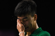 Distraught Nhat Nguyen crashes out of Youth Olympics after epic quarter-final defeat