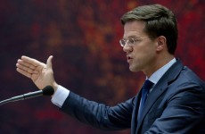 Dutch caretaker PM urges 'responsibility' over economic problems